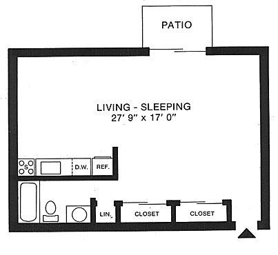 Ordinaire Floorplan: Large Studio